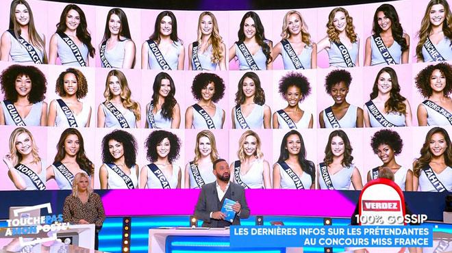 Le jury exclusivement féminin de Miss France ne plait pas DU TOUT à Cyril Hanouna: