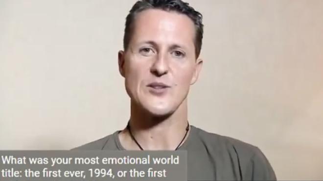 Sa dernière interview avant l'accident — Michael Schumacher