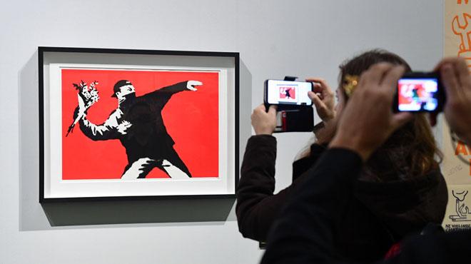 La justice belge place sous séquestre 58 oeuvres du célèbre artiste de rue Banksy