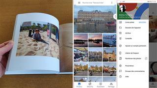 L'application 'galerie photo' la plus pratique permet désormais de commander directement ses albums- que vaut la fonction 'livre photo' de Google ?