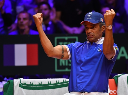 "Davis Cup: Noag maintains the mystery of his choices for Sunday ""title ="" Davis Cup: Noag maintains the mystery about his choices for Sunday ""/><p> The captain of the French team Yannick Noah during the match of the doubles against Croatia in the final of the Davis Cup, 24 November 2018 in Villeneuve-d 'AscqPhilippe HUGUEN</p></p></div><div id="