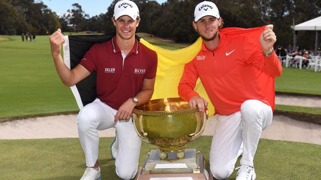 Victoire historique les belges remportent la coupe du monde de golf rtl sport - Coupe du monde historique ...