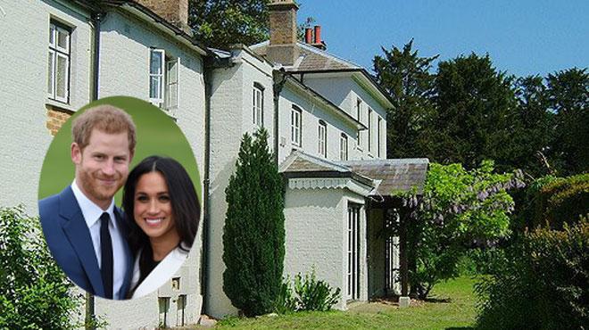 Les rénovations ont commencé pour le futur nid d'amour du Prince Harry et de Meghan Markle: découvrez le montant COLOSSAL prévu à cet effet