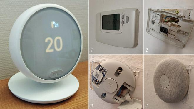 Les tests de Mathieu: pari réussi pour le dernier thermostat intelligent de Nest, qu'on peut VRAIMENT installer soi-même