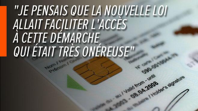Elle doit payer 490€ pour corriger son prénom à Bruxelles, alors que cette procédure coûte 3€ à Liège: