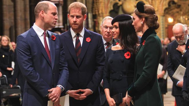 Harry reproche-t-il à son frère William de ne pas faire d'effort pour accueillir Meghan dans la famille? Le prince Charles intervient