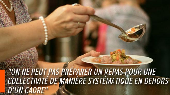 Une soupe scolaire préparée chez une bénévole ne passe pas: que faut-il faire pour respecter les exigences de l'Afsca?