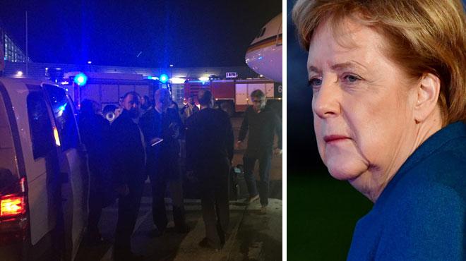 L'avion d'Angela Merkel atterrit en urgence à Cologne