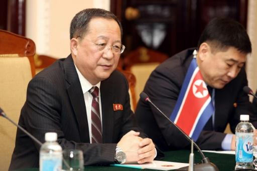 Le chef de la diplomatie nord-coréenne au Vietnam