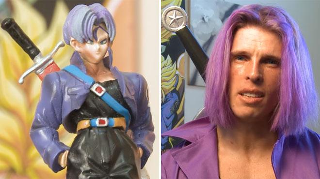 Ce fan de Dragon Ball Z dépense 5000$ par an pour ressembler à Trunks: