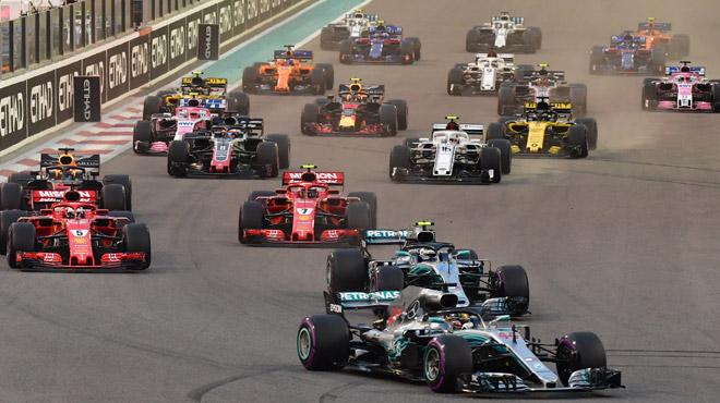 F1 voici la grille de d part compl te pour la saison 2019 - Grille de depart formule 1 ...
