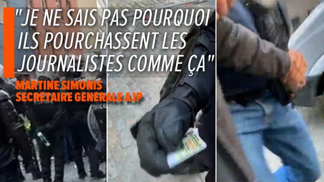 La police arrête un journaliste qui couvre l'action des gilets jaunes en direct à Bruxelles: