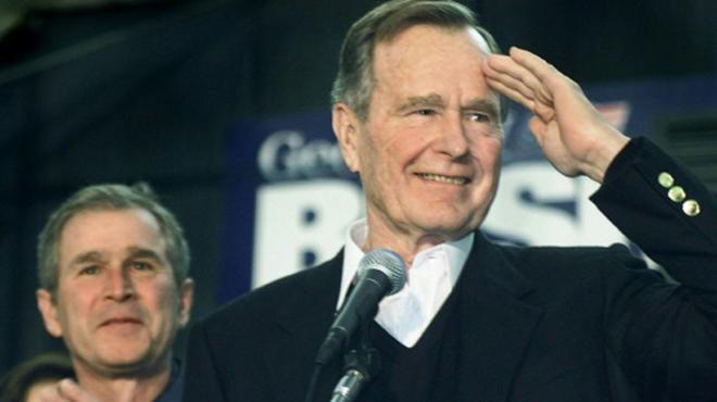 George H.W. Bush, chef de dynastie mais président d'un seul mandat