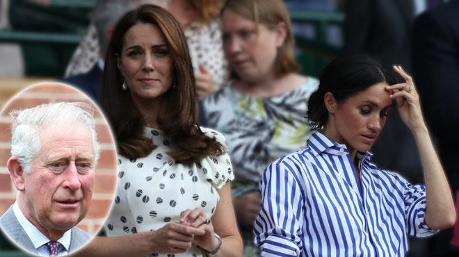 Tensions entre Kate Middleton et Meghan Markle: quand le prince Charles s'en mêle