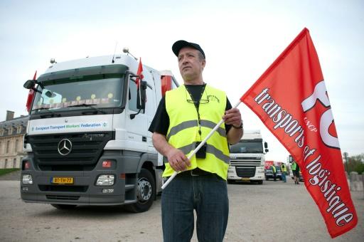 Transport routier CGT et FO appellent à la grève à partir de dimanche soir