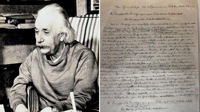 La lettre à 2,89 millions de dollars — Albert Einstein