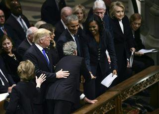 George W. Bush glisse encore une douceur à Michelle Obama