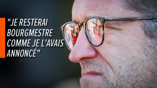 Proposé tête de liste du PS pour les élections européennes, Paul Magnette affirme qu'il n'y siégera pas