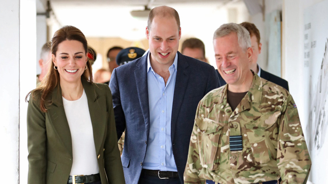 Le prince William se moque (gentiment) du look de Kate (photo)