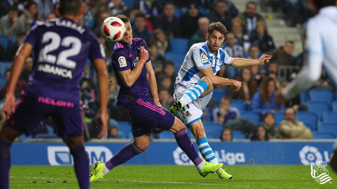 Le but SENSATIONNEL d'Adnan Januzaj qui qualifie la Real Sociedad (vidéo)
