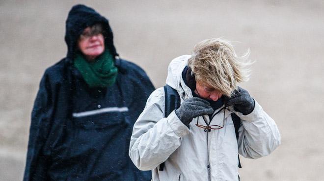Météo des prochains jours: un temps pourri marqué par des vents forts