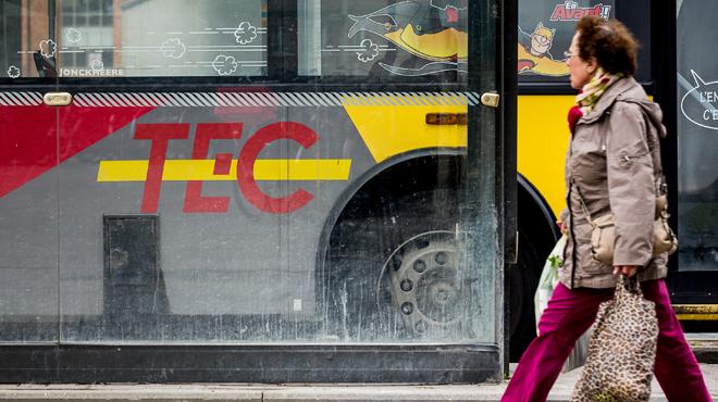 Bonne nouvelle pour les navetteurs: les tarifs des titres de transport des TEC gelés en 2019