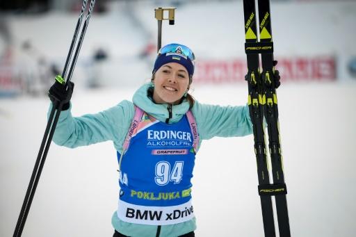 Biathlon: victoire de Dzhima à Individuel de Pokljuka, les Françaises hors du coup