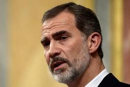 Le roi d'Espagne défend une Constitution garantissant