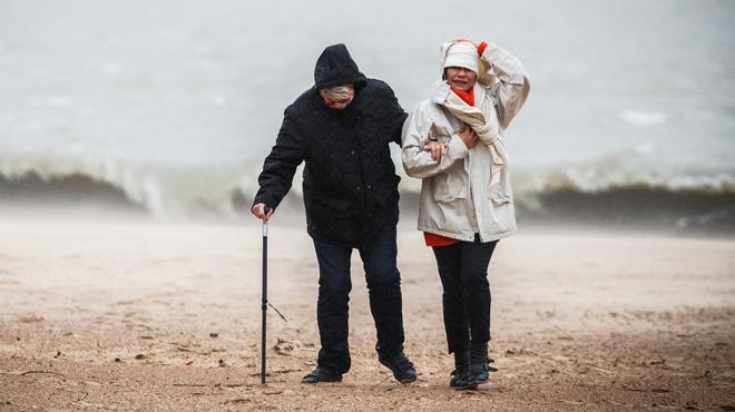 Prévisions météo: un week-end avec de la pluie et du vent... BEAUCOUP DE VENT