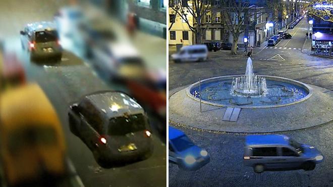 Cette voiture a heurté et grièvement blessé une piétonne avant de prendre la fuite à Liège: avez-vous vu quelque chose?