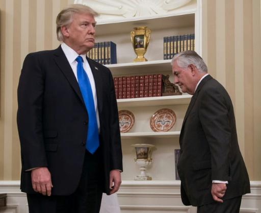Trump insulte Tillerson, dont il avait fait son diplomate en chef
