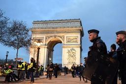 Gilets jaunes - Fuite d'une partie du dispositif de sécurité en vue de la mobilisation en France