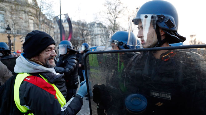 Véhicules, effectifs mobilisés: le dispositif policier pour les Gilets jaunes a fuité