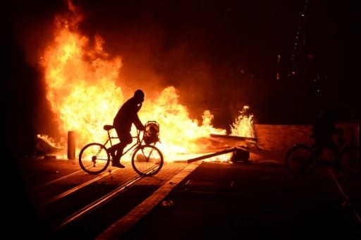 Débordements à Bordeaux en fin de manifestation des