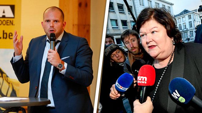 Maggie De Block attaque Theo Francken après avoir repris ses fonctions: