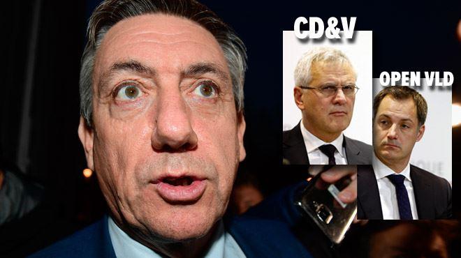 La N-VA nomme les responsables de son départ- ce n'est pas Charles Michel, ce sont les deux autres partis flamands 1