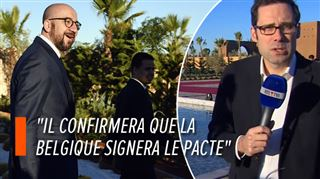 Pacte de l'ONU sur les migrations- Charles Michel est arrivé à Marrakech (vidéo) 3