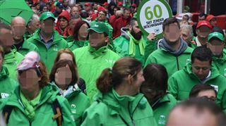 Journée d'actions syndicales à Liège ce vendredi- de nombreuses grosses entreprises, des magasins et le TEC à l'arrêt 5