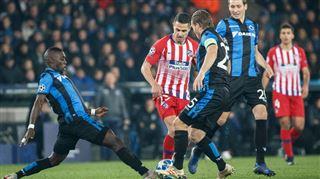 De valeureux Brugeois obtiennent un point face à l'Atlético Madrid (vidéos) 2