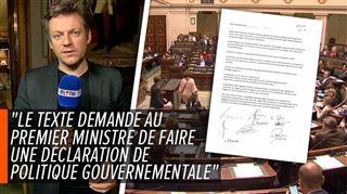 Rebondissement à la Chambre- la N-VA emboîte le pas au PS et souhaite que Charles Michel demande la confiance du parlement 2