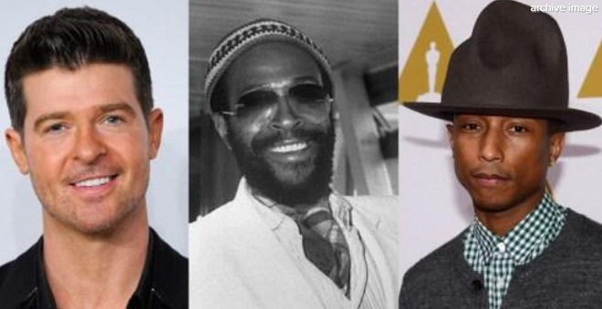 Pharrell Williams et Robin Thicke ont bien plagié Marvin Gaye