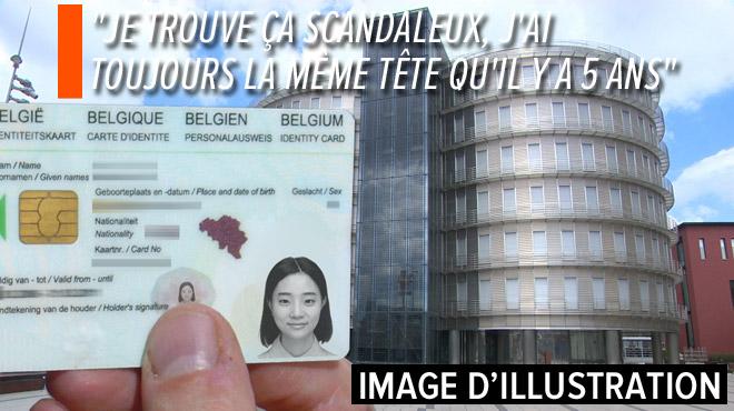 Christelle indignée parce qu'on lui refuse son ancienne photo de carte d'identité: