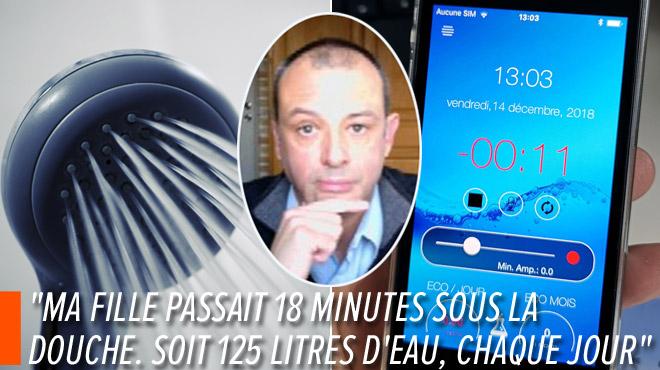 Prendre une douche INTERMINABLE, ça pollue et ça coûte cher: un Belge a développé une application qui pourrait nous aider…