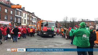La Wallonie tournait au ralenti aujourd'hui- bilan d'une journée de grève nationale très suivie 4