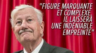 Décès de Philippe Moureaux- de nombreux politiciens lui rendent hommage 3