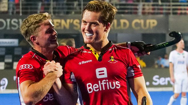 Historique la belgique corrige l angleterre et va en finale de la coupe du monde de hockey - Coupe du monde historique ...