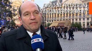 Une manifestation contre, une autre pour le pacte migratoire ce dimanche à Bruxelles- voici comment le bourgmestre compte éviter les débordements 2