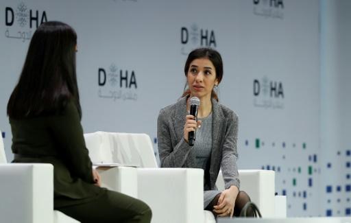La Nobel de la Paix Nadia Murad appelle à protéger les femmes yazidies