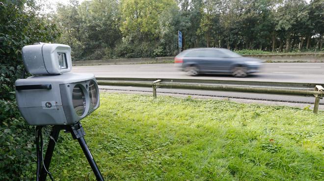 Un automobiliste flashé à plus de 130 km/h dans une zone limitée à 70 km/h à Ramillies