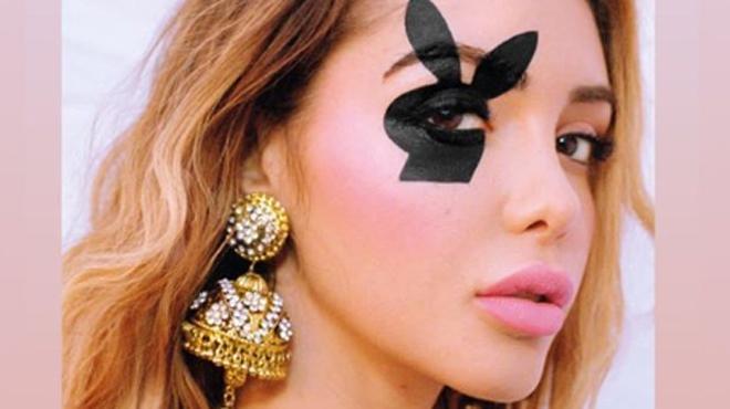 Nabilla en couverture de Playboy
